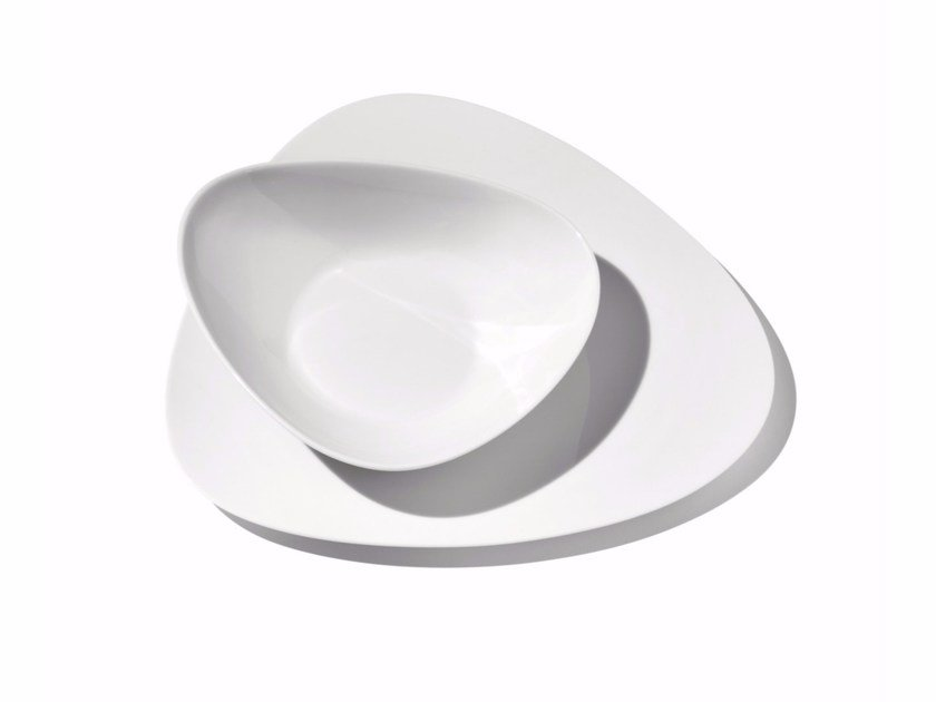 Porcelain plates set COLOMBINA | Plates set by ALESSI