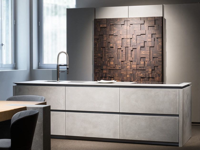 Wooden high cabinets TEA TALL UNIT - TONCELLI CUCINE
