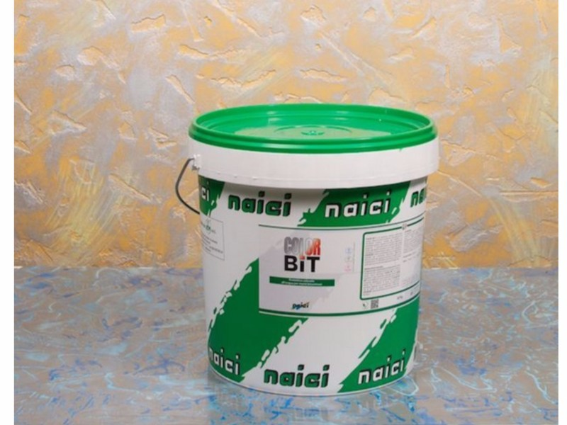 Water repellent water-based paint COLOR BIT - NAICI ITALIA
