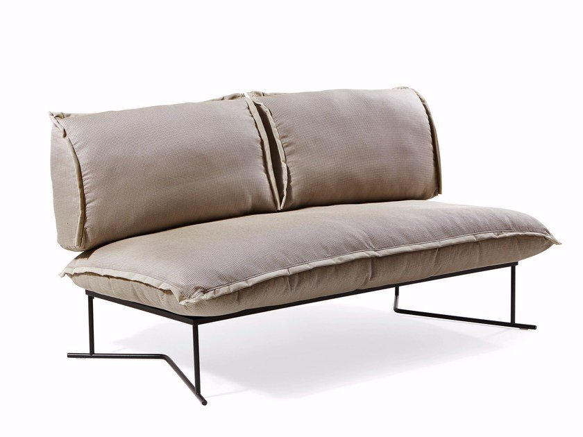 2 seater fabric sofa COLORADO | 2 seater sofa - Varaschin