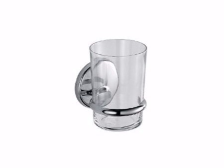 Glass toothbrush holder COLORELLA | Toothbrush holder - INDA®