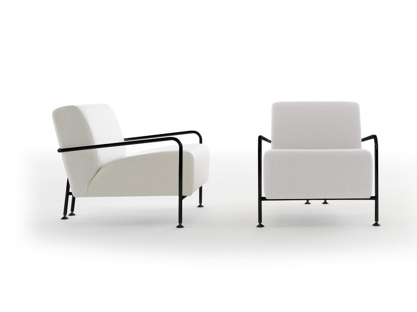 Upholstered armchair COLUBI | Armchair - Viccarbe