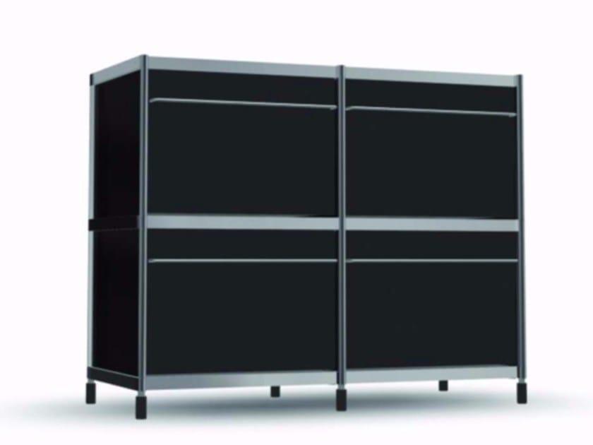 Aluminium office storage unit COM002 - SEC_com002 - Alias