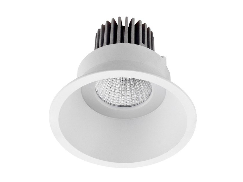 Faretto a LED rotondo in alluminio da incasso COMFORT - LED BCN Lighting Solutions