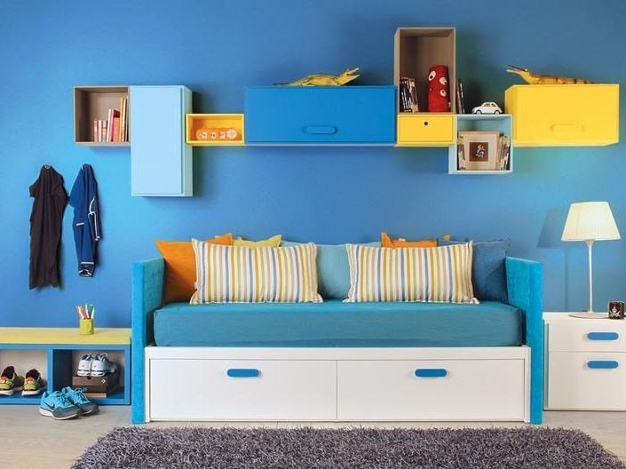 Storage bed for kids' bedroom COMPACT | Storage bed - dearkids