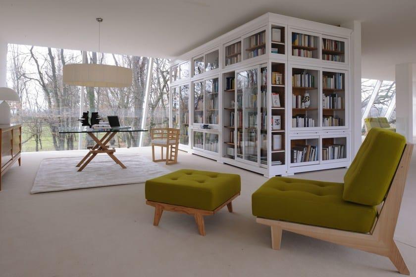 Libreria modulare modulo biedermeier libreria morelato for Morelato librerie