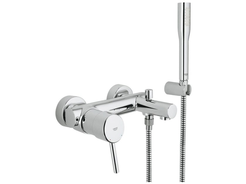 Miscelatore per doccia / vasca a 2 fori monocomando CONCETTO | Miscelatore per doccia con doccetta - Grohe
