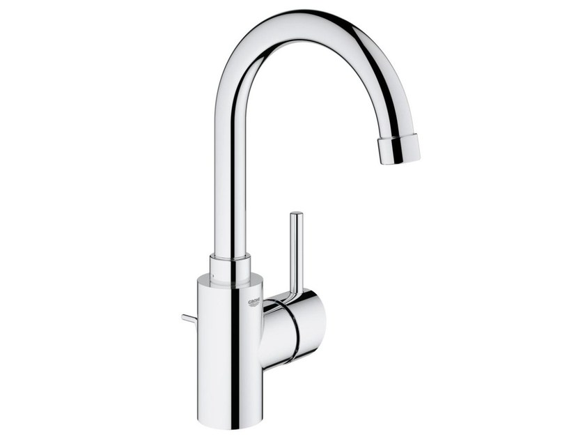Countertop single handle washbasin mixer with adjustable spout CONCETTO SIZE L | Washbasin mixer with pop up waste - Grohe