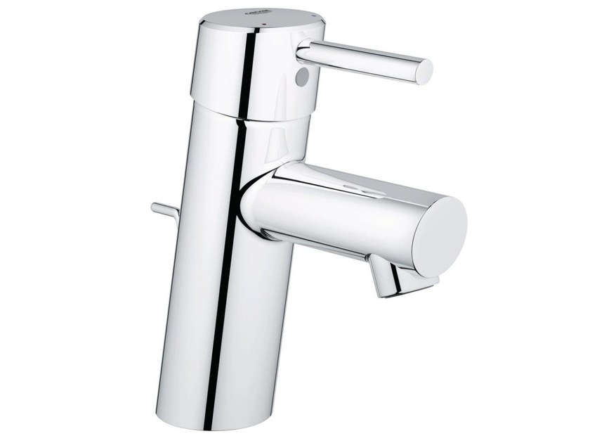Countertop single handle washbasin mixer with temperature limiter CONCETTO SIZE S | Washbasin mixer with pop up waste - Grohe