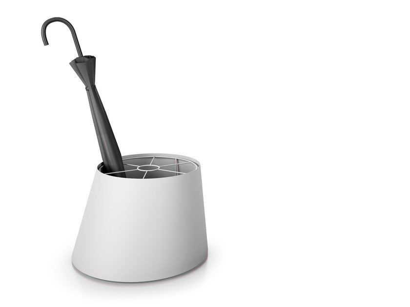 Floorstanding steel umbrella stand CONEE | Umbrella stand by Systemtronic