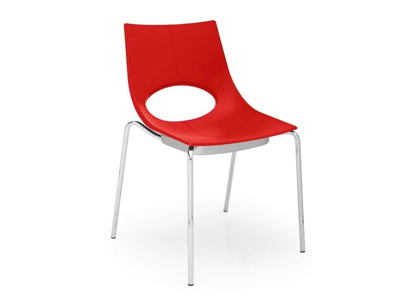Stackable chair CONGRESS | Stackable chair - Calligaris