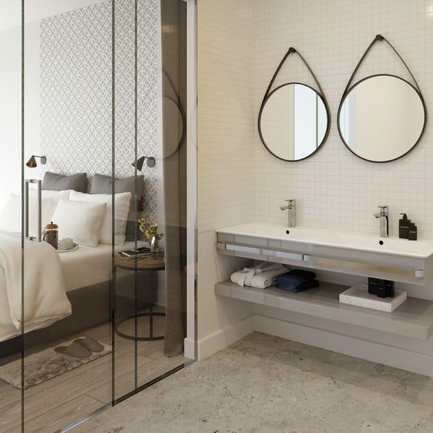 Miscelatore per lavabo da piano monocomando con aeratore - Aeratore per bagno ...