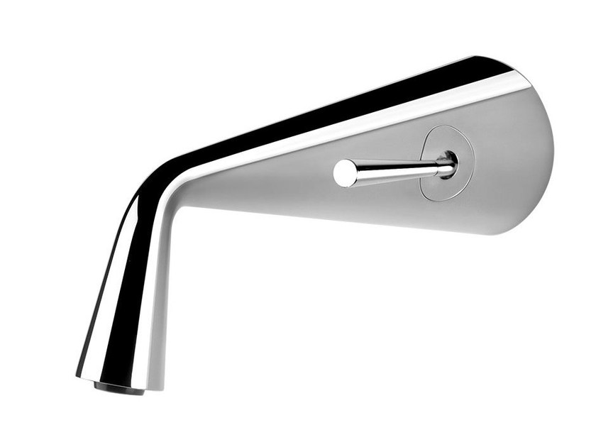 Wall-mounted single handle washbasin mixer CONO 45088 by Gessi
