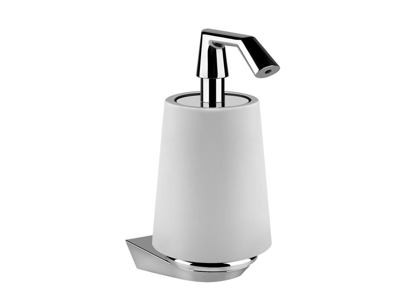 Wall-mounted liquid soap dispenser CONO ACCESSORIES 45413 by Gessi