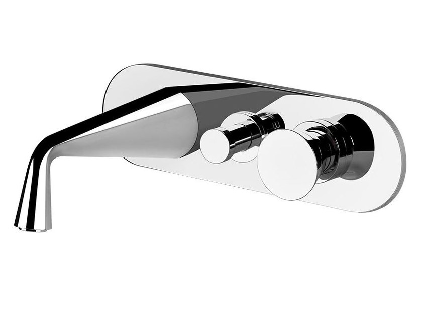 Wall-mounted bathtub mixer CONO BATH 45036 - Gessi