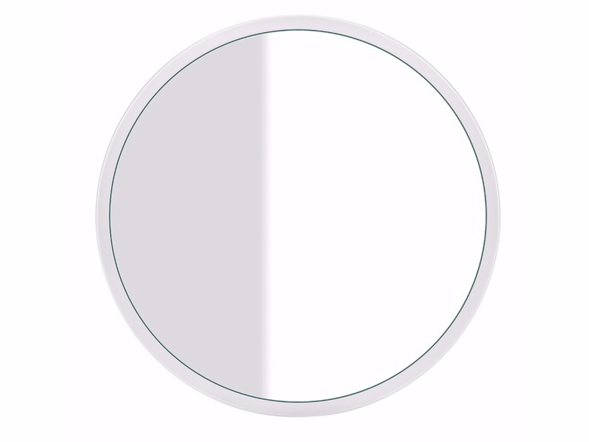 Round wall-mounted mirror CONO MIRROR 45921 - Gessi