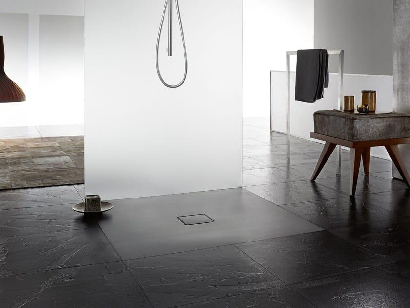 Piatto doccia filo pavimento conoflat kaldewei italia - Piatto doccia filo pavimento piastrellabile ...