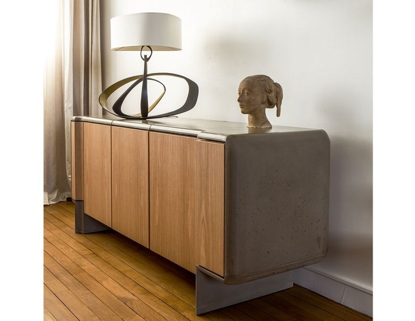 madia con ante a battente console b ton by malherbe edition. Black Bedroom Furniture Sets. Home Design Ideas