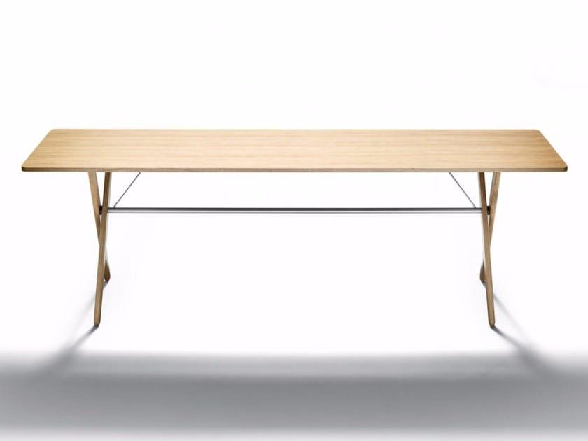 Rectangular oak console table CONSOLE - DE PADOVA