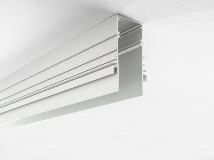 Extruded aluminium Linear lighting profile CONTAINER by LUCIFERO'S