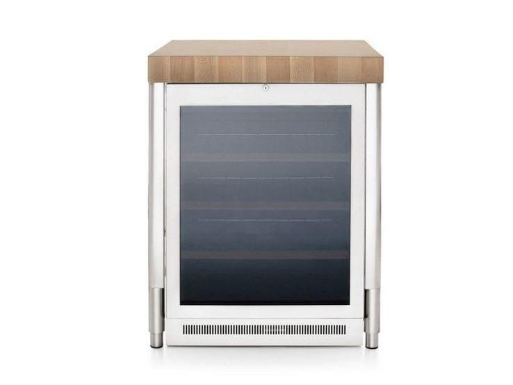 Stainless steel kitchen / wine cooler CONTENIMENTO FRIGO CANTINA 70 - ALPES-INOX