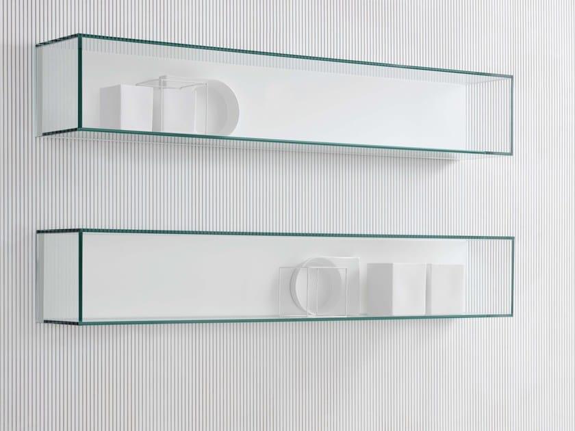 Contenitore / mensola in vetro Mensola in vetro - Silenia