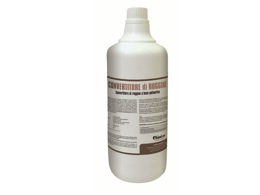 Rust prevention and converter product CONVERTITORE DI RUGGINE - Chimiver Panseri