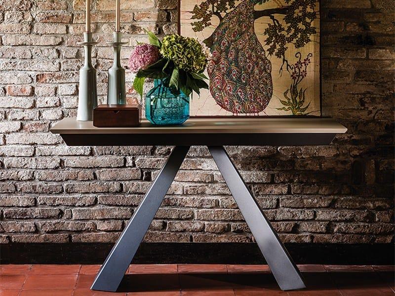 Extending rectangular console table CONVIVIUM - Cattelan Italia
