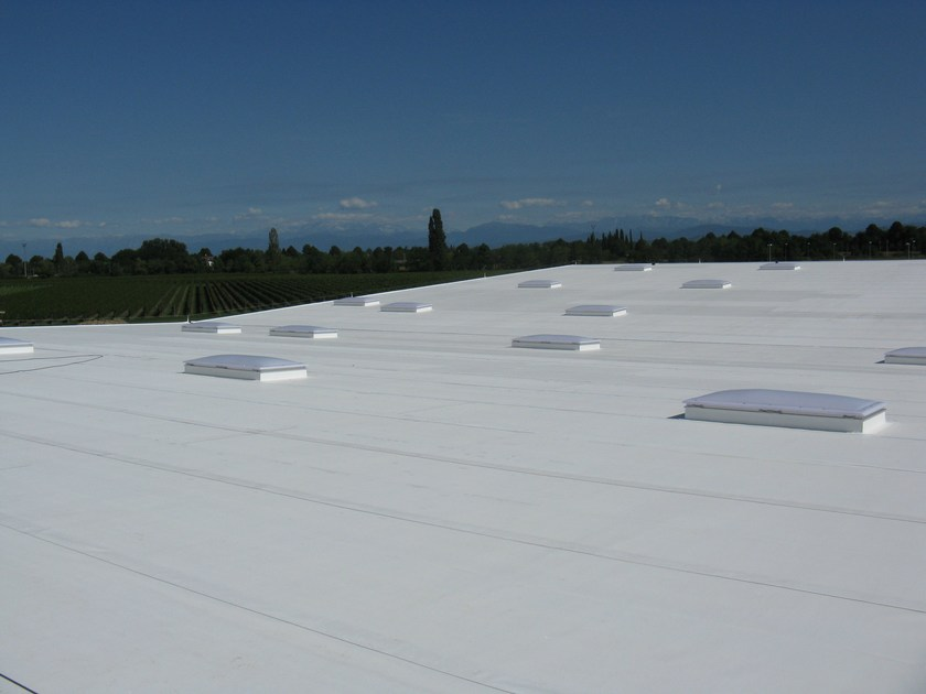 Polyolefin-based waterproofing product COOL ROOF - POLYGLASS