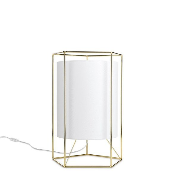 Contemporary style metal table lamp COOPER by ENVY