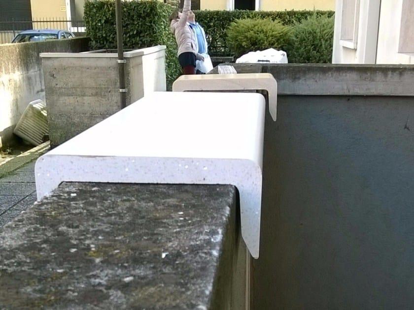 Marmoresin® wall coping Coprimuro Cover up - Coprimuro