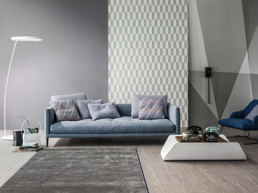 Upholstered fabric sofa CORAL by Bonaldo