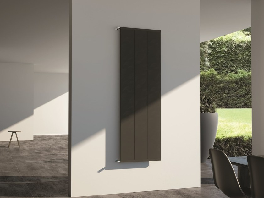 Wall-mounted aluminium decorative radiator CORAL by SCIROCCO H