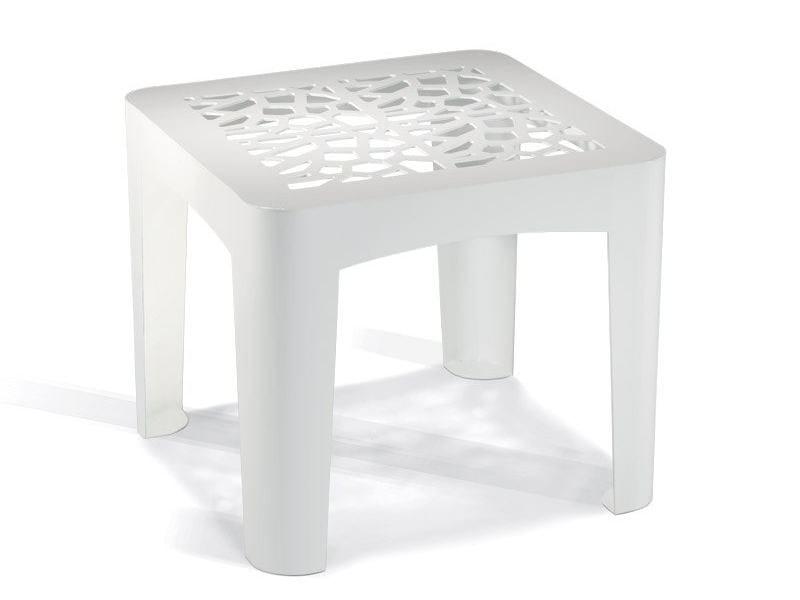 Tavolino in acciaio zincato CORAL TABLE - LAB23