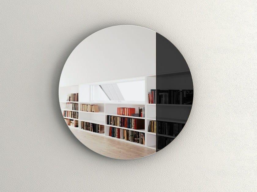 Specchio rotondo a parete CORD - DEKNUDT MIRRORS
