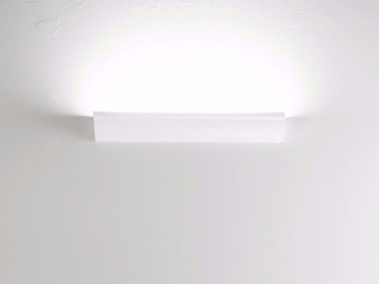 Halogen aluminium wall lamp CORNICE W1 - Rotaliana