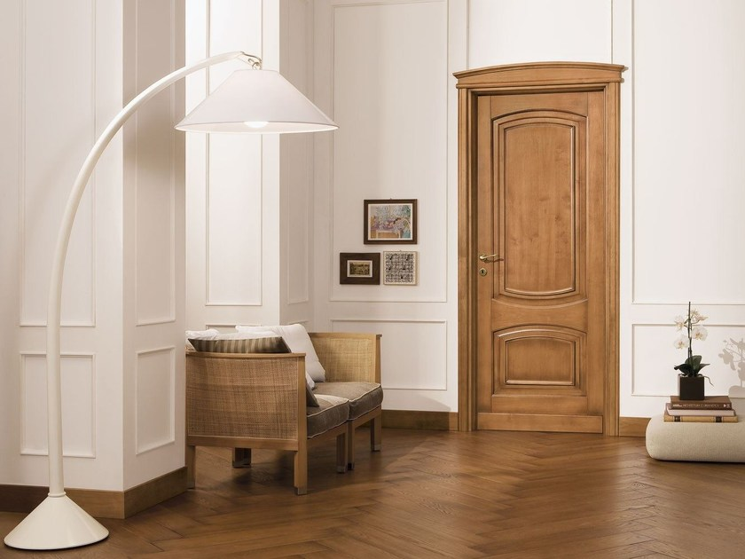 Solid wood door CORNICI by LEGNOFORM