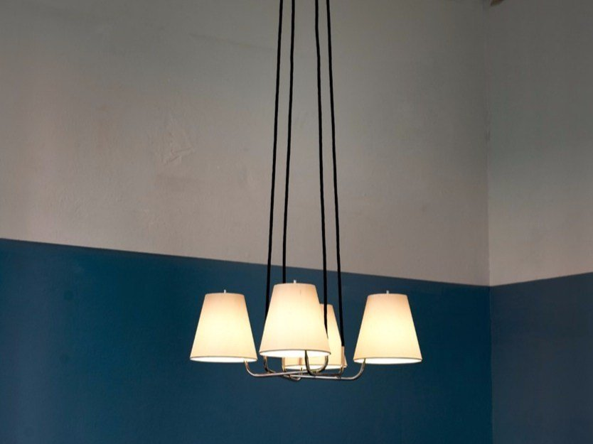 Direct light chandelier CORONA by Kalmar