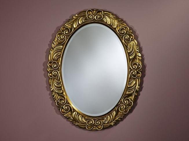 Oval framed mirror CORONA - DEKNUDT MIRRORS