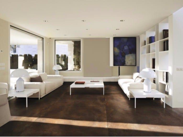 Indoor/outdoor porcelain stoneware wall/floor tiles with metal effect CORTEN | Flooring - FMG Fabbrica Marmi e Graniti