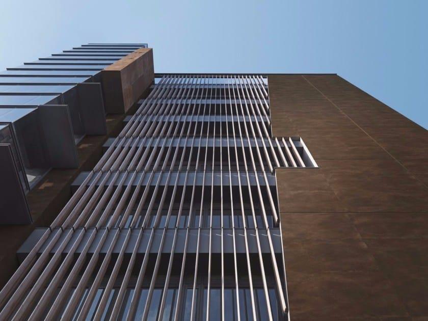 Pannello per facciata in gres porcellanato CORTEN | Pannello per facciata - FMG Fabbrica Marmi e Graniti