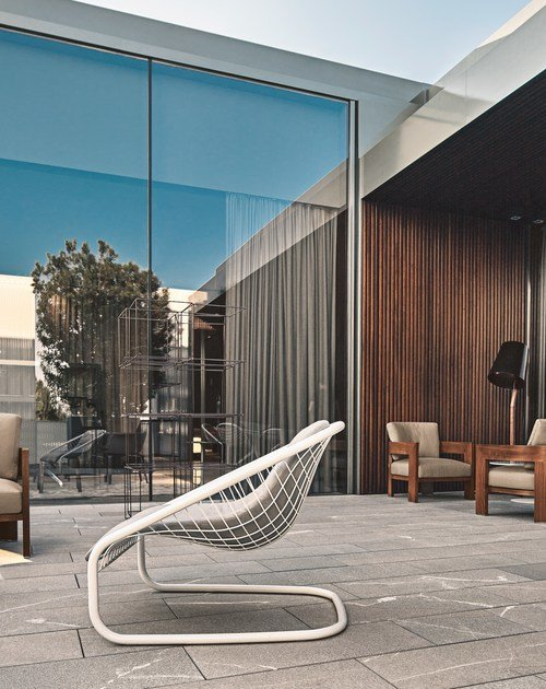 Cortina Armchair Outdoor By Minotti Design Gordon Guillaumier