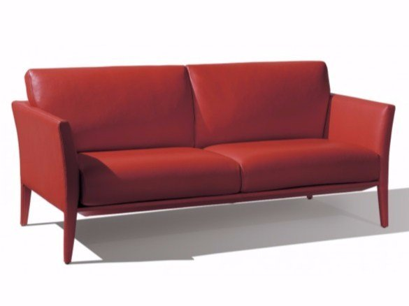 3 seater leather sofa COSMOS | 3 seater sofa - Canapés Duvivier
