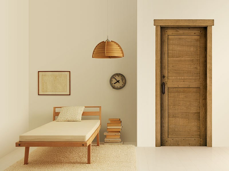 Solid wood door COUNTRY - LEGNOFORM