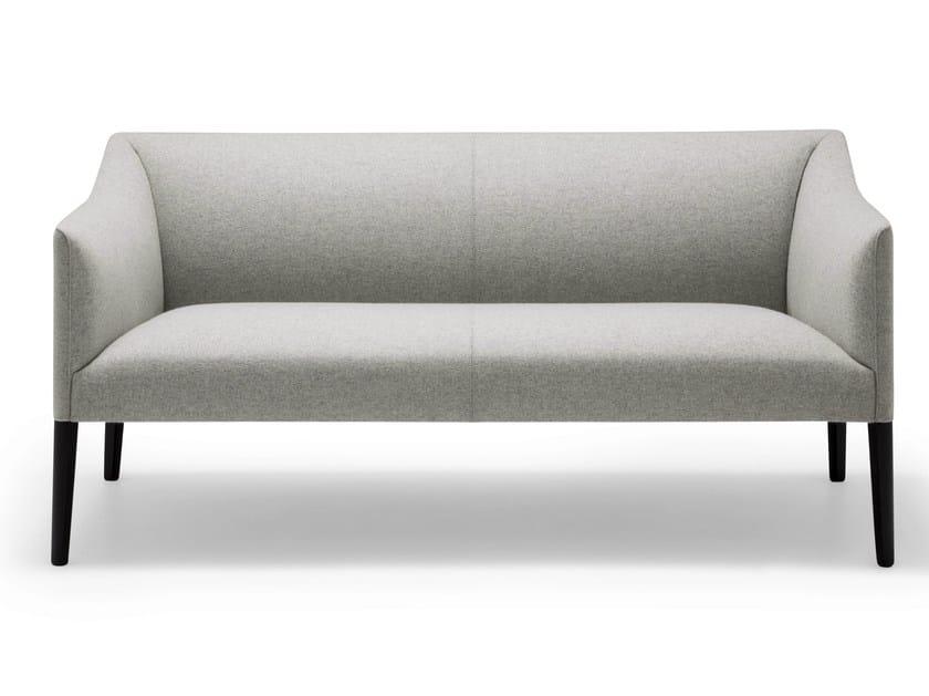 2 seater fabric sofa COUVÉ | 2 seater sofa - Andreu World