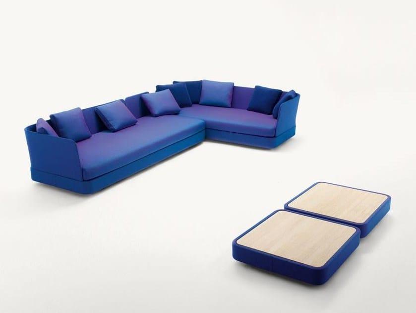 Corner sectional technical fabric sofa COVE | Sofa - Paola Lenti