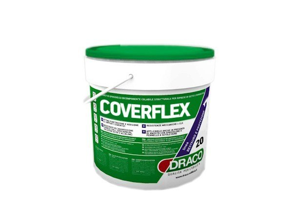 Asbestos encapsulation treatment and product COVERFLEX - DRACO ITALIANA