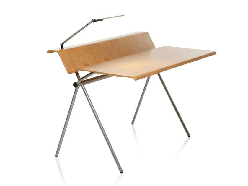 Plywood bench desk CRANE by RIGA CHAIR