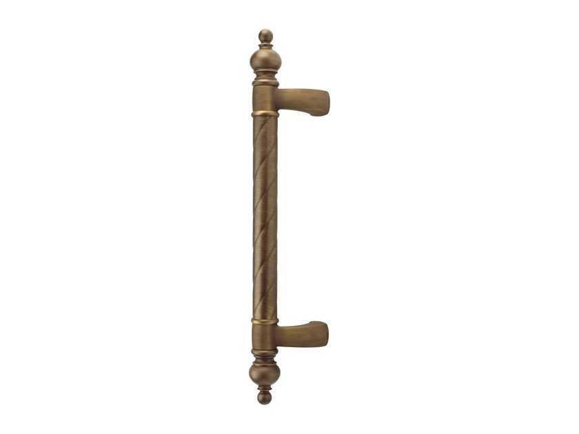 Classic style brass pull handle CREATIVE CROWN | Classic style pull handle - LINEA CALI'