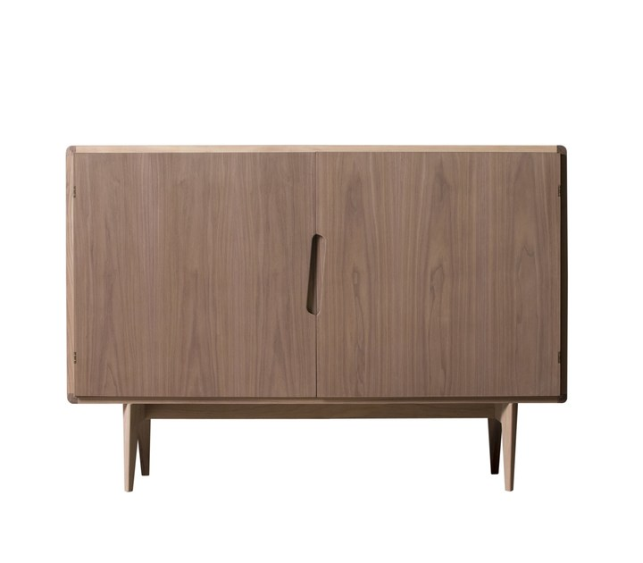 Walnut sideboard with doors MALIBÙ | Sideboard - Morelato